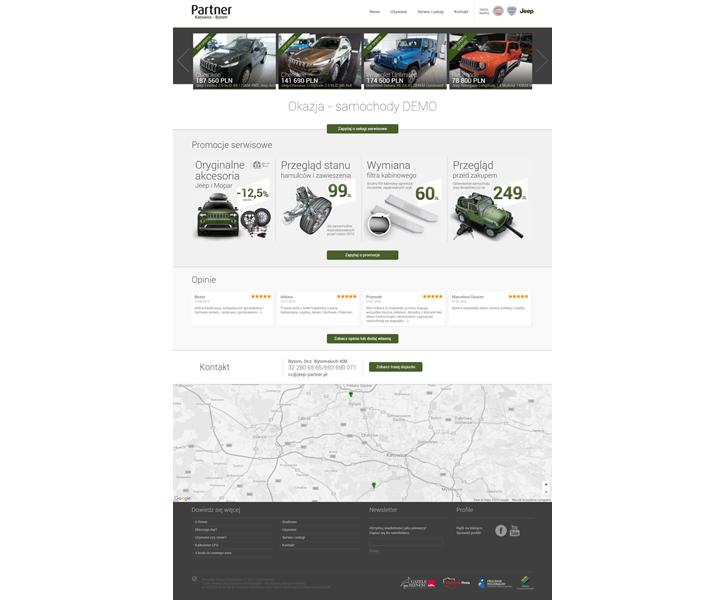Strona www Jeep Partner