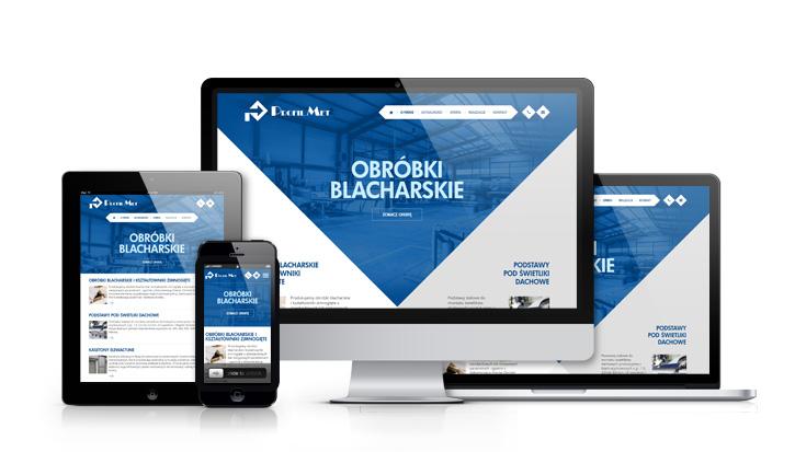 Profil-Met - serwis internetowy