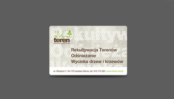 Teren - wizytówka