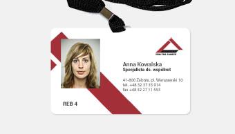 ZBM - karta identyfikacyjna pracownika