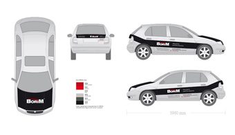 Oznakowanie samochodu