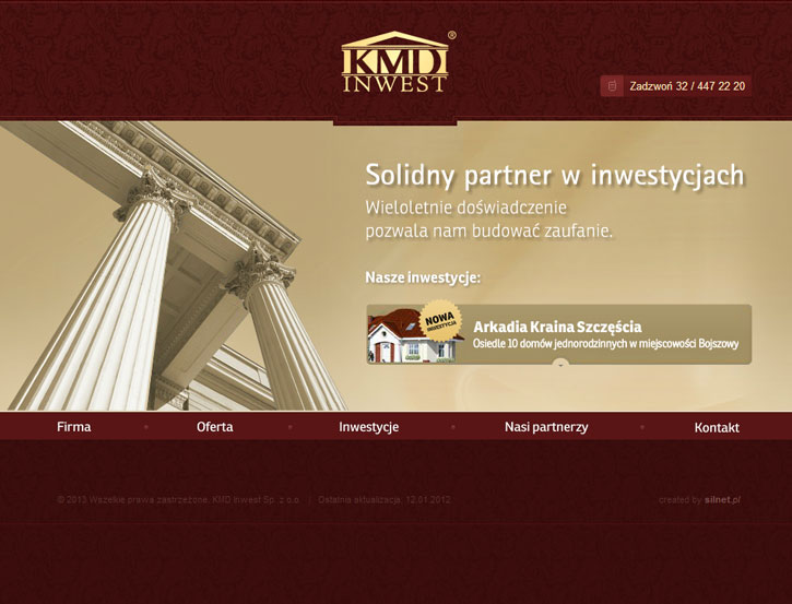 KMD Inwest - serwis www
