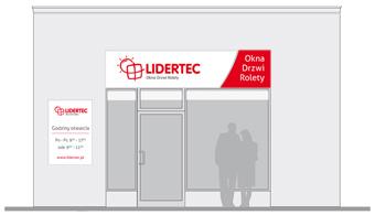 Oznakowanie zewnętrzne sklepu