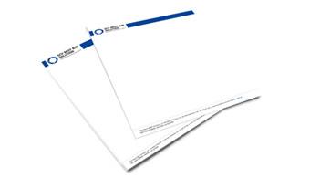 Projekt graficzny papieru firmowego