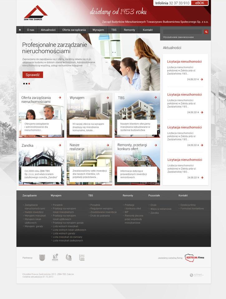 ZBM - strona internetowa