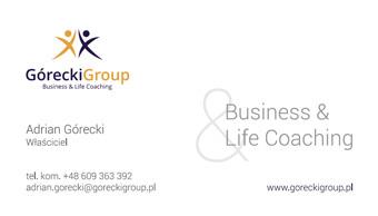 Górecki Group - wizytowki