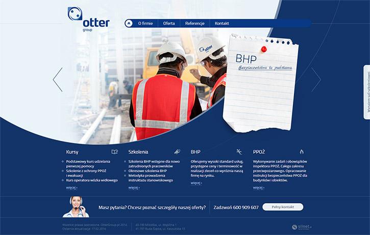 OtterGroup - serwis www