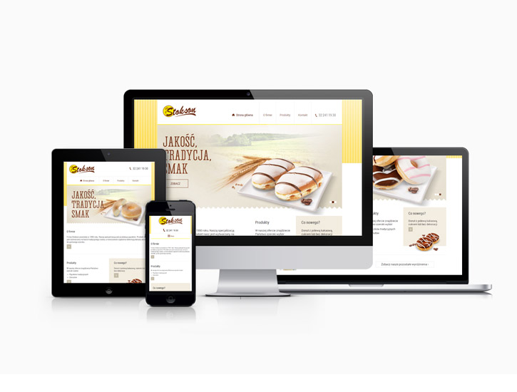 Stokson - serwis www zgodny z Responsive Web Design