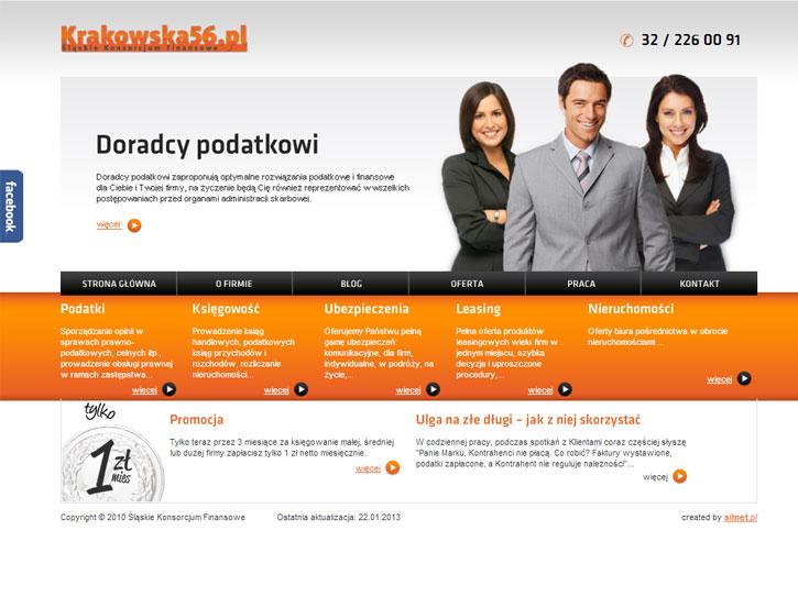 Krakowska56 - serwis internetowy