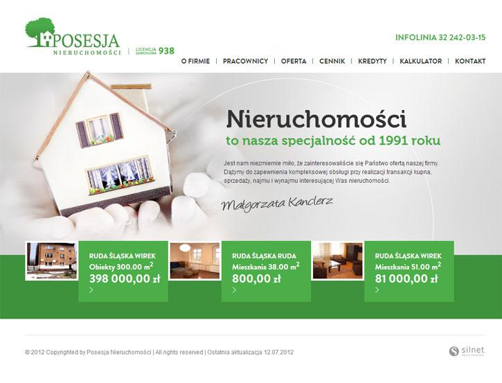 Posesja - serwis www