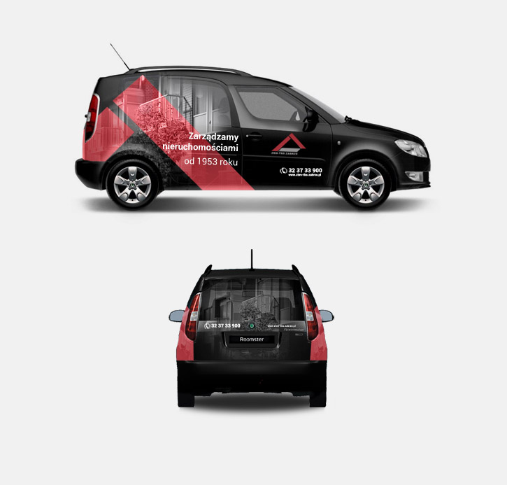 ZBM - oznakowanie samochodu