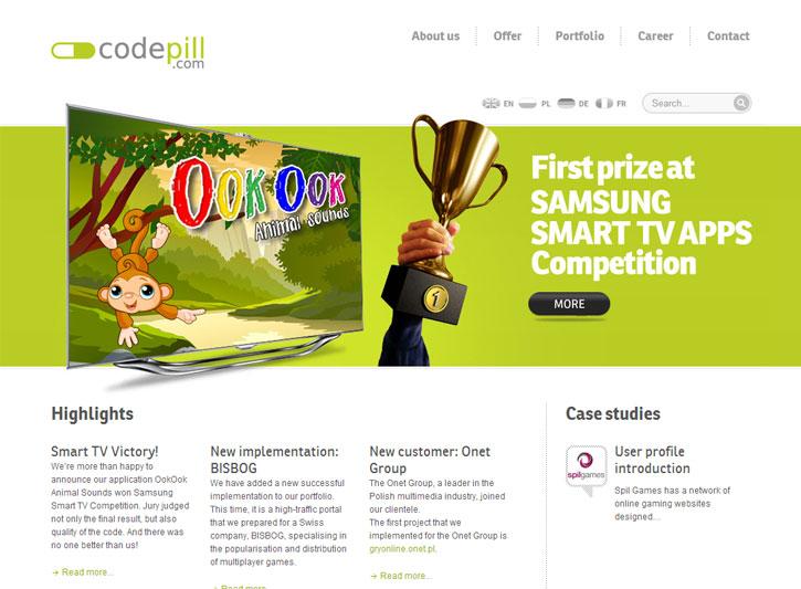 Code Pill - serwis internetowy