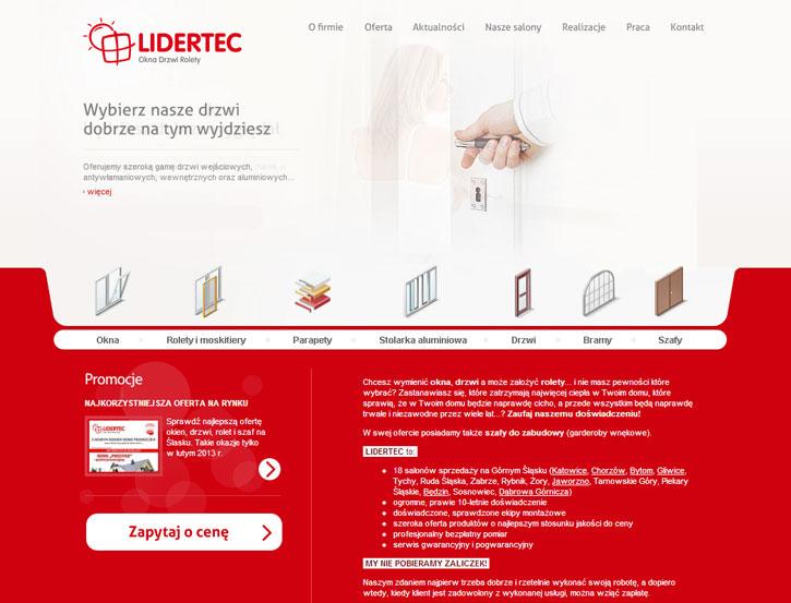 Lidertec - serwis www