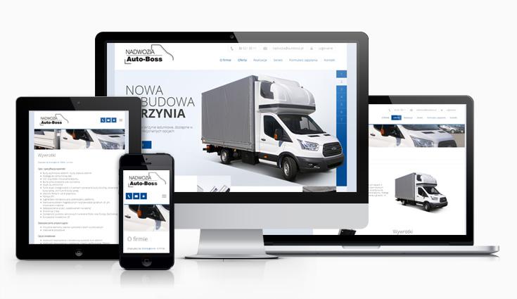 Serwis internetowy Nadwozia AutoBoss