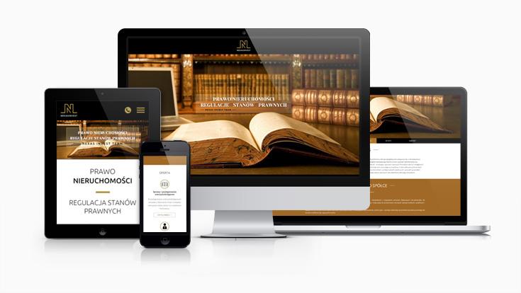 Nexas Invest - strona internetowa