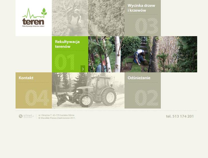 Teren - serwis www