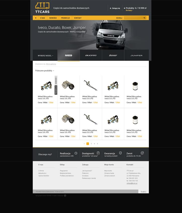 TT Cars - sklep internetowy