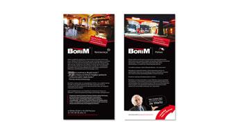 Ulotki - Restauracja Borim