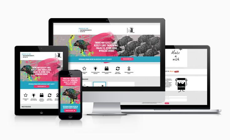 Bonzoobox - strona internetowa