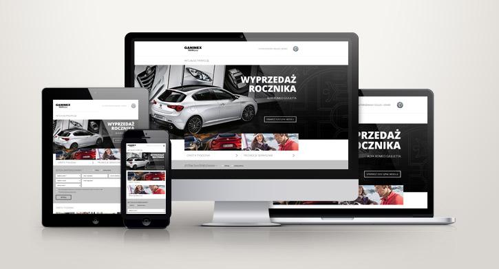 Strona lądowania Alfa-Romeo