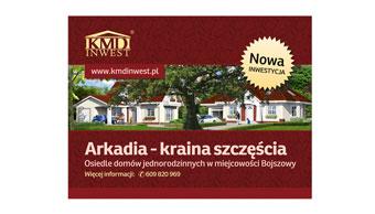 KMD Inwest - reklama prasowa