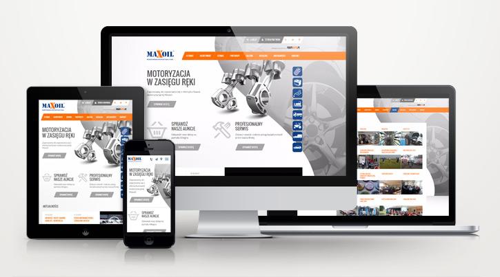 Maxoil - strona internetowa