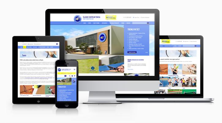 Śląskie Centrum Tenisa - serwis internetowy