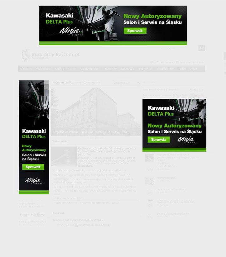 Delta Plus - kreacje reklamowe on-line