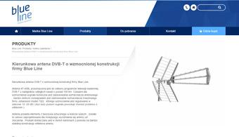 Serwis internetowy www.blue-line-satellite.com