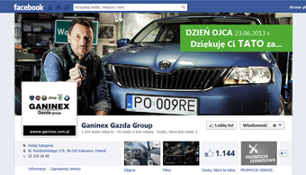 Profil facebook - cover photo Dzień Ojca