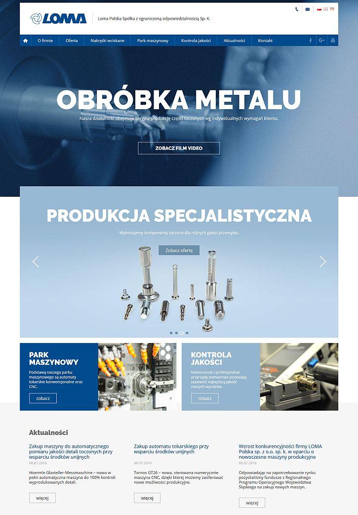 Nowa strona www Loma Polska