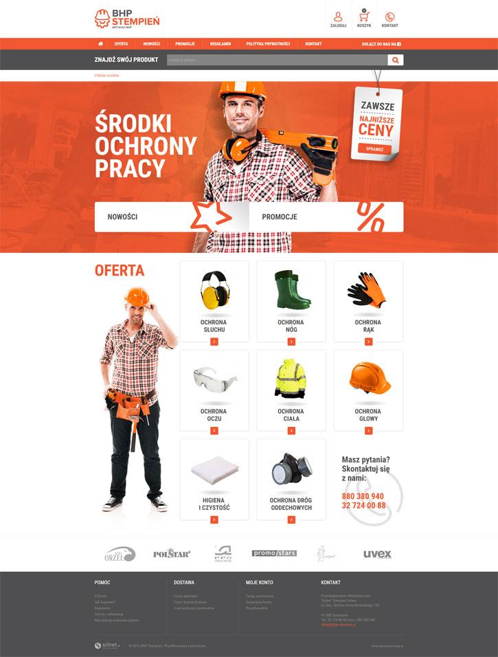 BHP Stempień - sklep internetowy