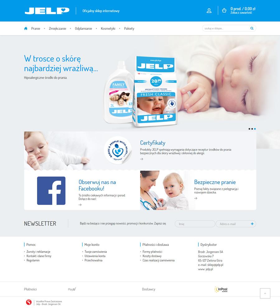 Sklep internetowy www.sklep.jelp.pl