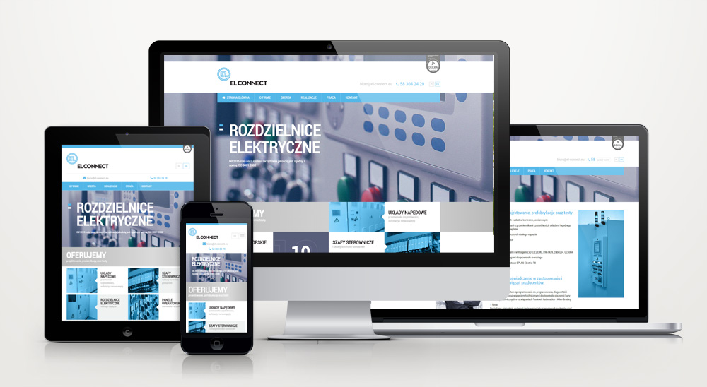 El-Connect- serwis internetowy