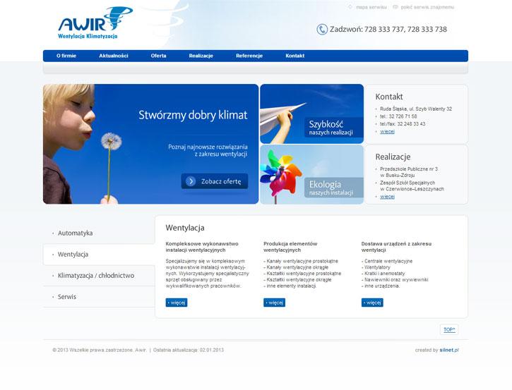 Awir - strona www