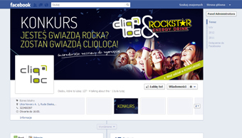 Cliqloc - profil facebook - cover photo