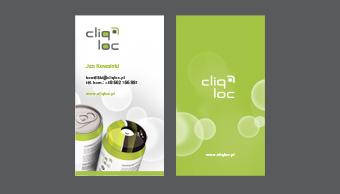 Cliqloc - wizytówka