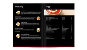 Restauracja Borim - karta menu