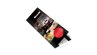 Restauracja Borim - etui na paragon