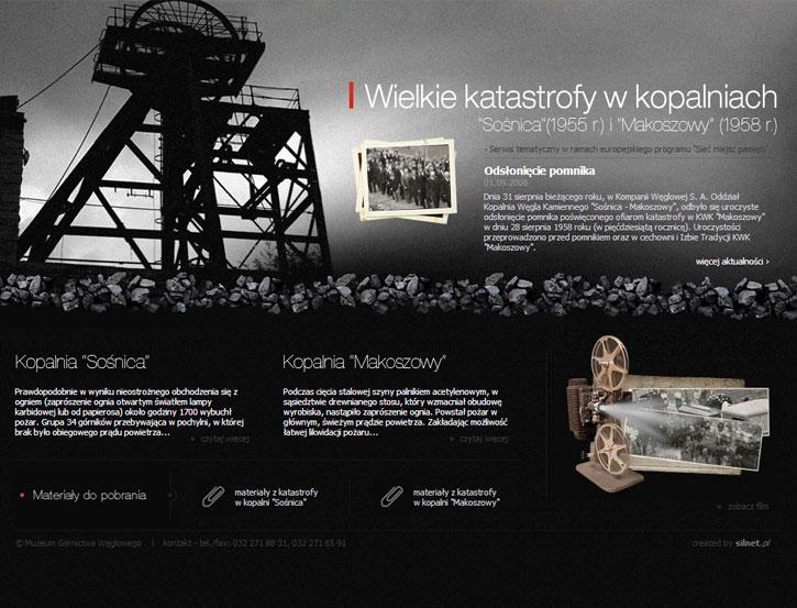 Katastrofy Górnicze - serwis internetowy