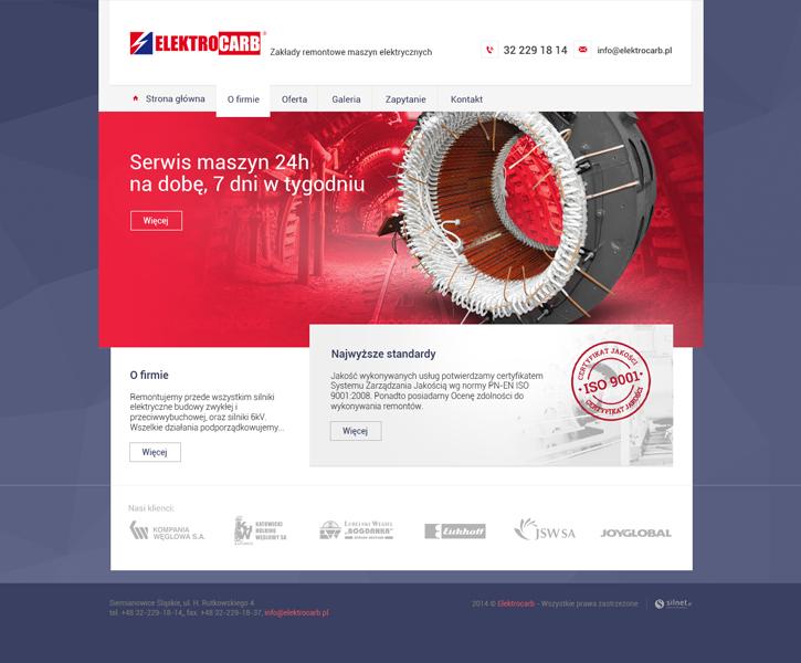 ElektroCarb - strona www