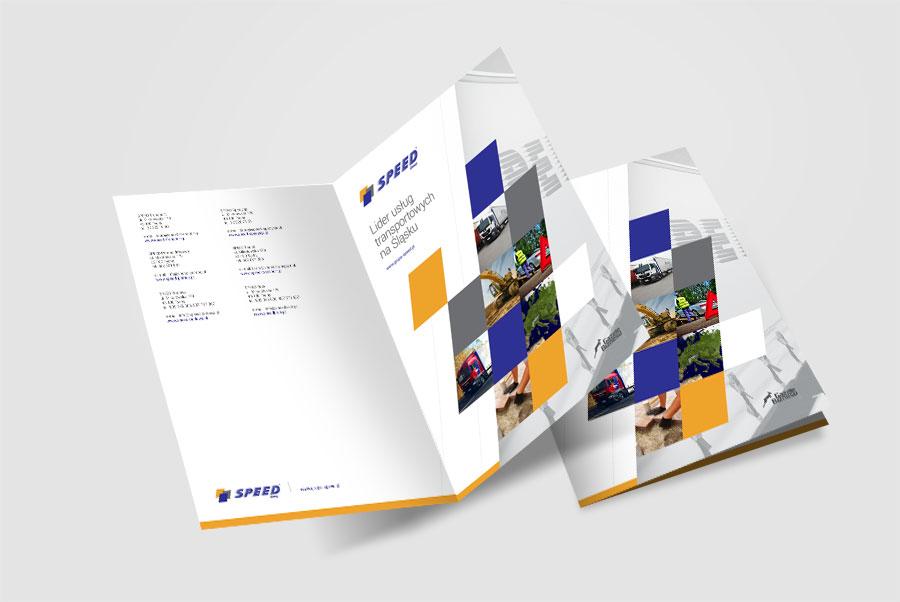 Folder promocyjny - Grupa Speed