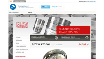 KEG - projekt aukcji Allegro