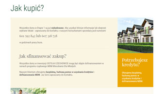 Ostoja Czechowice - strona www