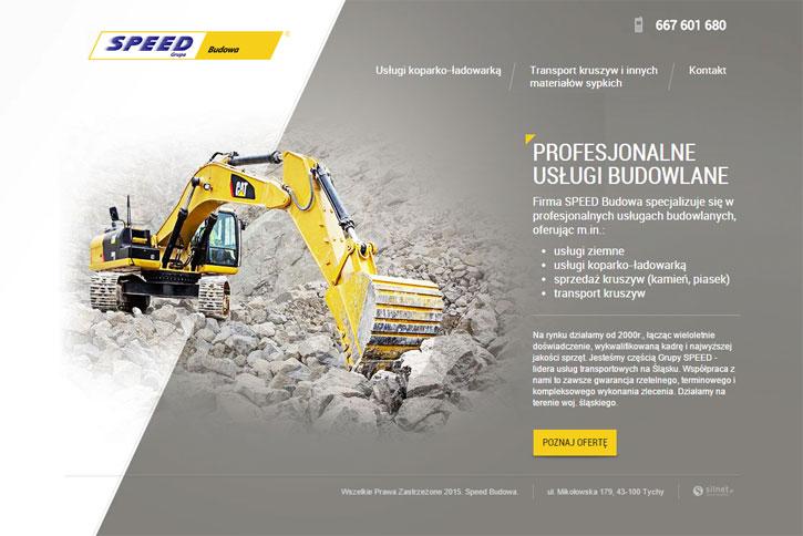 Speed Budowa- serwis www