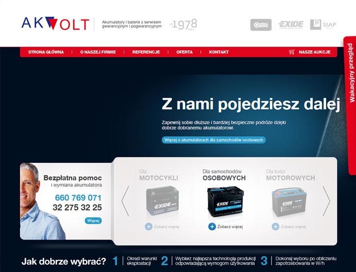 AKVOLT - serwis www