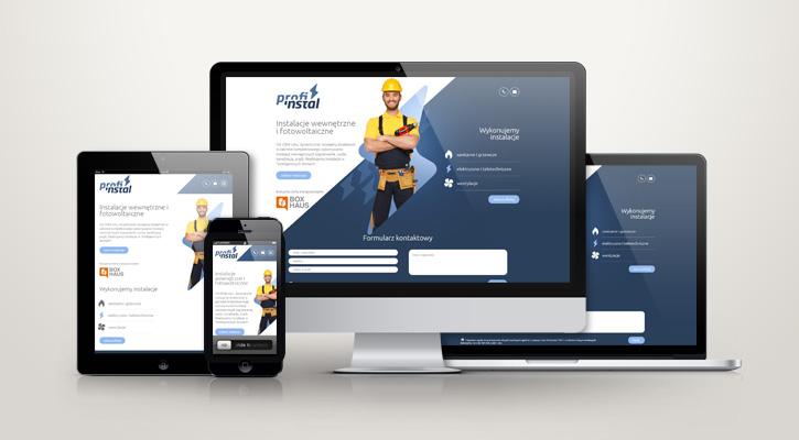 Strona www - profi-instal.com