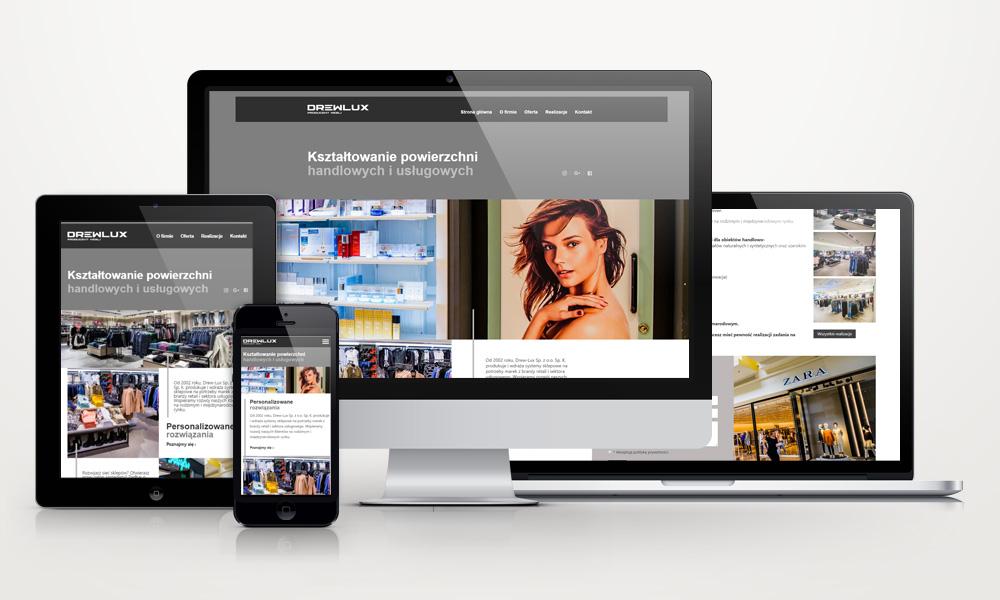 Drewlux - strona internetowa