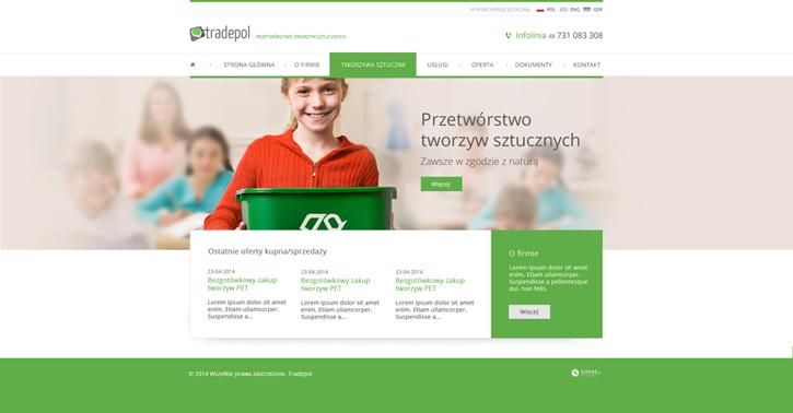 Tradepol - serwis www