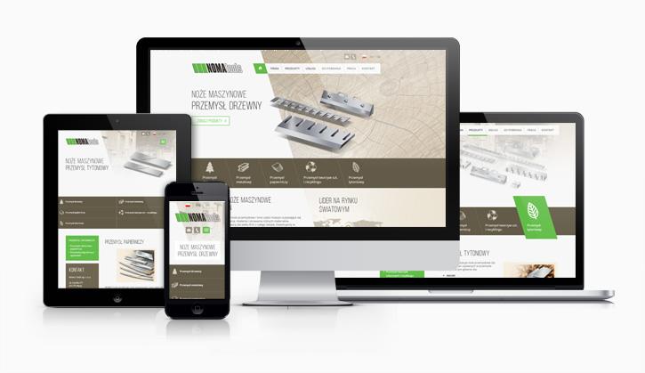 Noma Tools - serwis internetowy